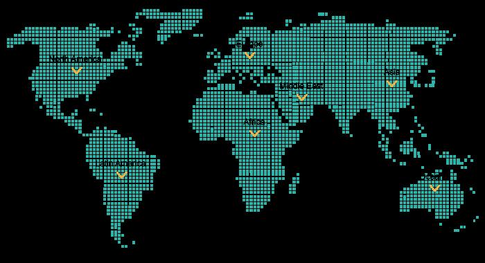 国際共同研究 マップ